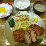 おさむ - 1/2012限定かつ・コロッケ・ポテサラ1,200円