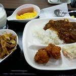 駒ケ岳サービスエリア(上り線)スナックコーナー - 朝食ばい菌グー(笑)