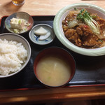筑前 - 料理写真:鶏旨煮定食