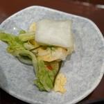 110595047 - 香の物(うなぎ丼)