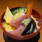 福寿し - 旬の海鮮丼と地物握り(ランチパスポート使用)