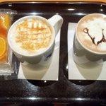 エクセルシオールカフェ ヨドバシカメラ梅田ビル店 - オーダー、EXCELSIOR CAFFEにて…