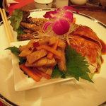 湖陽樹 - 三種前菜盛り合わせ