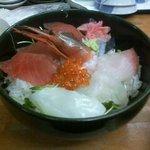 活州居酒屋 駅前 - 海鮮丼(並 大盛り)