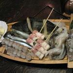 炭たん村 - ピチピチ漁村セット1,950円