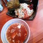 麺屋ぼうず - つけ麺(並)650円(オープンチラシ)通常750円