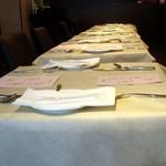 ビストロ ラマージュ - テーブルセット