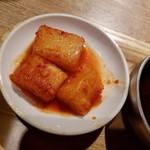 熟成焼肉 肉源 - カクテキ
