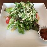 CAFE ATIK - 前菜 サラダ 夏野菜のトマト煮