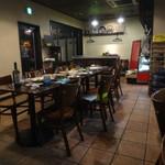 イル フォルノ - 先程まで、店内おテーブル席は満席でした。