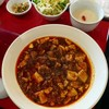 川菜味 - 料理写真:四川マーボードーフ定食850円
