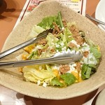旨唐揚げと居酒メシ ミライザカ - 野菜サラダ
