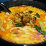 toushoumenunryuu - 麻辣牛肉刀削麺