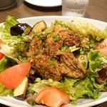 110617254 - 牡蠣南蛮のサラダ