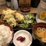 水炊き・焼鳥 とりいちず食堂 - ♪チキン南蛮定食¥500