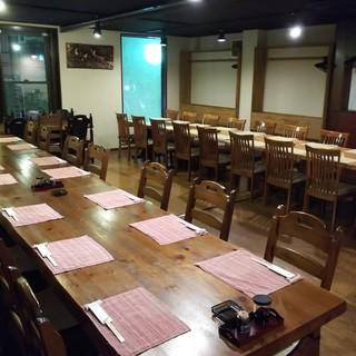 2階★宴会席全45人席7月~10月8名様~貸し切りに致します