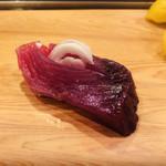 江戸長寿司本店 - びやびや鰹の刺身