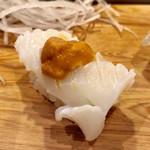 江戸長寿司本店 - スルメイカ