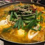 韓国田舎家庭料理 東光 - プデチゲ