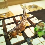 110624801 - 焼き物 和歌山の若鮎の塩焼き