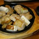 110632538 - 鶏ねぎ間焼き辛味噌添え