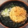 富士そば - 料理写真:天ぷらそば わかめ増し  480円