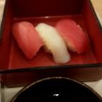 110634567 - 夕食のにぎり寿司up