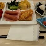 110634570 - 朝食ビュッフェで食べた諸々(笑)
