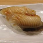 山喜鮨 - 穴子は後から供されます