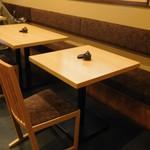 山喜鮨 - テーブル席