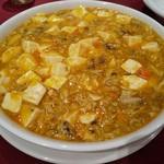 110636619 - 上海蟹の麻婆豆腐