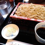 110637676 - もりそばお安い♪蕎麦湯で満足♡美味いは然り!