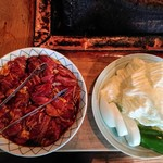 らくだ山 地鶏の店 - 2019年5月 地鶏炭火焼定食 1780円