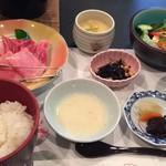珠洲ビーチホテル - 料理写真:能登牛石焼定食