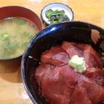 まぐろ小屋 - 鉄火丼¥800