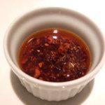 中華DINING BAR龍鳳 - 龍鳳オリジナル具入りラー油