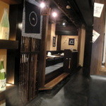 日本酒スローフード とやま方舟 - 奥は掘りごたつ式のお座敷です