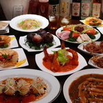 中華DINING BAR龍鳳 - 5,500円コース