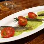 ビストロ ル マリアージュ - 料理写真:稚鮎のフリット 胡瓜のソース