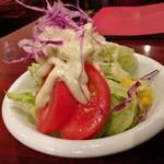 モンブラン - サラダ