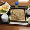 そばの里 秋山郷 - 料理写真:十割そば+野菜天麩羅  980円+400円