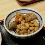 まんじ - 小鉢の煮豆