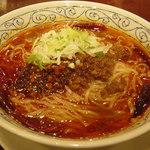 11065457 - 紅麻辣坦々麺です。