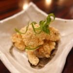バガワーン・カレー - アヤボラ貝の唐揚げ