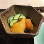 第三春美鮨 - 女川の養殖海鞘の酢の物