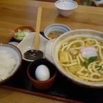 大正庵釜春本店 - カレー煮込みうどん