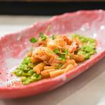 ボトルス - トリルッツィ 赤海老と緑の豆