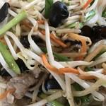 中国料理 味神館  - 野菜炒めアップ