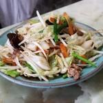 玉蘭 - 野菜炒め。