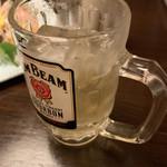魚楽 - ジムビームハイボール クーポン利用で99円